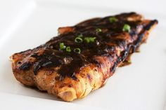 Soy-Ginger Salmon is a super easy and flavorful weeknight meal.