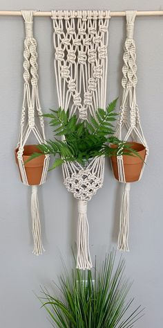 Your place to buy and sell all things handmade Wall Plant Holder, Hanging Plant Wall, Macrame Wall Hanging Patterns, Macrame Plant Holder, Large Macrame Wall Hanging, Macrame Plant Hangers, Macrame Patterns, Diy Projects For Beginners, Plants