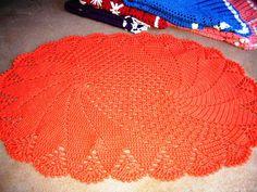 artesanatos da Luziane. : Tapetes em croche...Lindos!