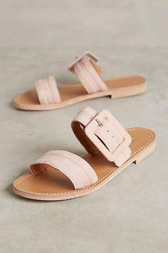 Morena Gabbrielli Quilted Slide Sandals