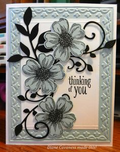 Stampin' Up! Flower Shop, Peaceful Petals