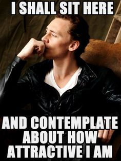Go forth, Tom Hiddleston.