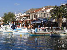 Harbour View, Pythagorion, Samos, Aegean Islands, Greece Photographic Print by Stuart Black at Art.com