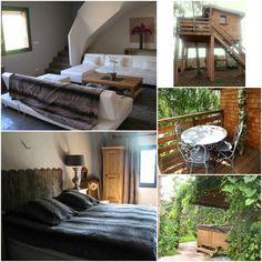 LE REFUGE DES 3 OURS CHAMBRES D'HÔTES location de cabanes à ESSUILES dans l'Oise. Le site web : http://www.lerefugedes3ours.fr/