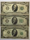 ❣‡ *LOT(3) 1928 1934 1950  $#10 GREEN SEAL #Federal Reserve Notes(FRN) Collection http://ebay.to/2gJaen4