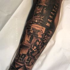 Egypt, Mansa Musa, Malcolm X, Tupac Shakur. How will your story be told? First half a lower leg sleeve me and are working… Black Men Tattoos, Black People Tattoos, Full Leg Tattoos, Half Sleeve Tattoos For Guys, Half Sleeve Tattoos Designs, African Sleeve Tattoo, Egyptian Tattoo Sleeve, Forearm Sleeve Tattoos, Best Sleeve Tattoos