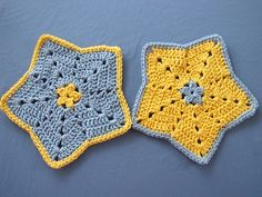 Little Star Dish Cloth or Wash Cloth: a #Free #Crochet #Pattern for You