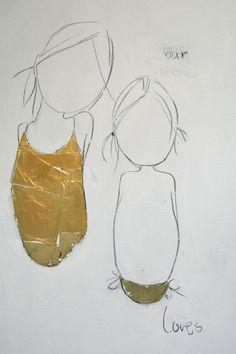 together.... by Ingrid Van Der Kemp