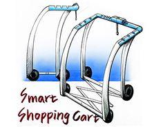 Shopping Cart Design Sketch
