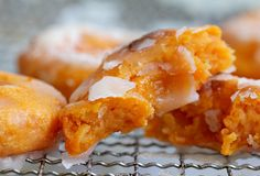 Fat Free Sweet Potato Donuts-baked