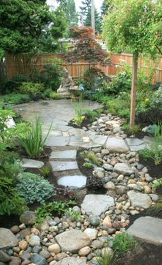 Rain garden - http://www.inharmony.com/raingardens.html