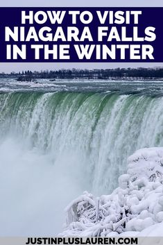 You need to visit Niagara Falls in the winter! It's a beautiful, magical, winter frozen wonderland. Seeing Niagara Falls frozen is so pretty, and there are so many other reasons to plan your wintery Niagara Falls getaway. Learn more about all the things to do in Niagara Falls in wintertime. Niagara Falls winter | Winter in Niagara Falls | Best things to do in Niagara Falls | What to see in Niagara Falls | Niagara Falls in December | Niagara Falls in January | Niagara Falls in February