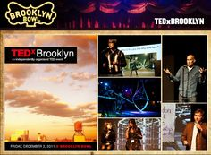 TED X BROOKLYN :: Brooklyn Bowl = Food by Blue Ribbon + 16 lane bowling alley + 600 capacity live music venue :: located in Brooklyn, NY. // Find us on Twitter & Instagram @brooklynbowl - FB: http://bkbwl.com/gVLVzS // #BrooklynBowl - #BowlingAlley - #LiveMusicVenue - #BlueRibbonFood - #LiveMusic - #BrooklynBowlEvents - #BrooklynNightlife - #NYC - #Entertainment - #NewMusic - #Concerts - #TED