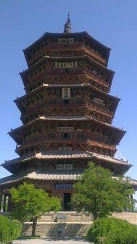 China ancient tower