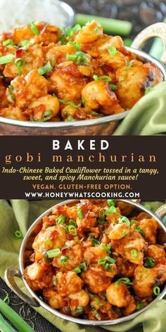 Indian Food Recipes, Asian Recipes, Real Food Recipes, Cooking Recipes, Ethnic Recipes, Baked Cauliflower, Cauliflower Recipes, Vegetable Recipes, Veggie Dishes