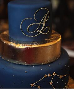 Constellations cake by Anna Krasovskaia