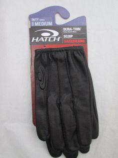 Cuir Gants police gants gants police cop basiques