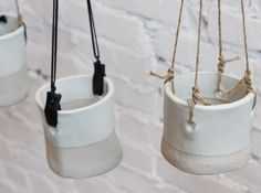 hanging pottery