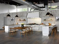Officine Gullo showroom kitchen in Miami, 6151 Biscayne Blvd