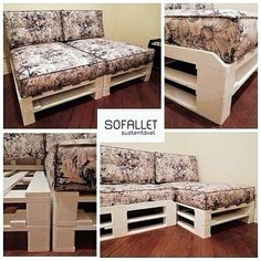 Sofallet é versátil: chase, 3 lugares com chaise, 4 lugares...