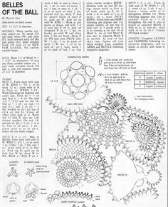 Pattern for connected Crinoline Ladies