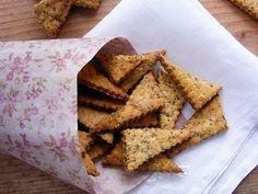 szeretetrehangoltan: Mákos keksz (sós) Bread, Cookies, Food, Crack Crackers, Brot, Biscuits, Essen, Baking, Meals