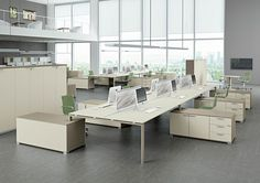 Glider by Bralco | Desking systems