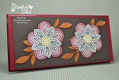Stampin' Up! - Note Pad - Triple Treat Flower