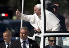 WASHINGTON (AP) — Wading into bitter disputes, Pope Francis urged a divided Congress and America on Thursday to welcome immigrants, abolish the death penalty, share the nation's immense wealth and fight global warming. Lawmakers gave rousing ovations to the leader of the world's Catholics despite obvious disagreements over some of his pleas.