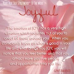 Week 10 TSSW is Joyful!