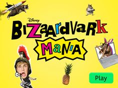 Watch full episodes of Bizaardvark online. Get behind-the-scenes and extras all on Disney Channel. Mickey Mouse Stickers, Disney Mickey Mouse, Disney Junior, Fun Games, Games To Play, Mickey And Minnie Kissing, Isle Of The Lost, Play Puzzle, Farm Animal Coloring Pages