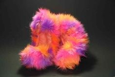 Glitter Crazy Fur Soakers by Fuzzy Soakers