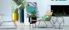 Collection mobilier déco AM.PM. été 2016 : tendance vert (1/2)