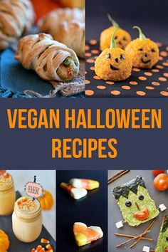 Halloween Essen, vegane Rezepte