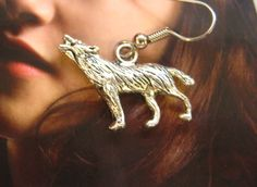 Team Jacob, these Werewolf earrings inspired by Twilight are for you, by JennsJemsJewelry, $12.00