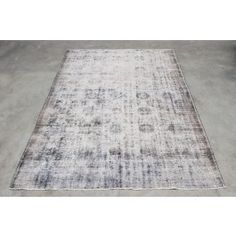 ScotchCollectables - white brown rug