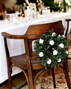 Noble fir & miniature carnations