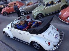 Michael Maquoi's 1965 US Import 1300 VW Beetle Cabriolet. Hoeselt, Belgium.