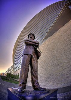 Cowboys Stadium - The Man in the Hat