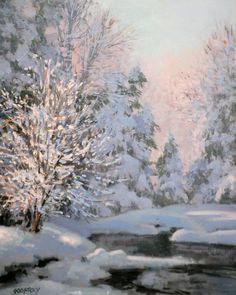 Morning Snow, by Michael Godfrey