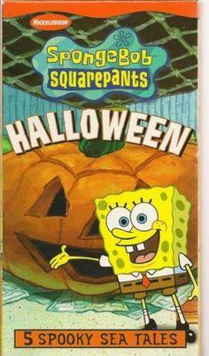 Spongebob Squarepants VHS Lot of 4 Plush Plush Spongebob ...