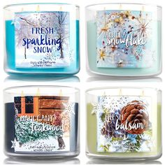 Bath and Body Works Winter 2015 Candles