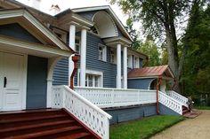 Alexander Ostrovskiy's house in Schelykovo (near Kostroma, Russia)