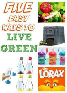 5 Easy Ways To Live Green | eBay