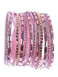 Pink Cuff Wrap Bracelet  $6.99