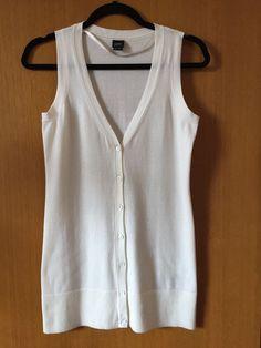Esprit Cotton Knit Vest Size S