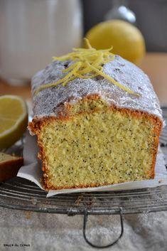 Cake citron pavot (lemon and poppy seed cake)