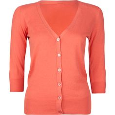 Lightweight Coral Cardigan | Products, Cardigans and Coral