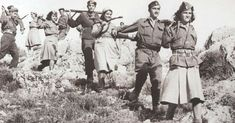 """Greek Fire: Civil War in the """"Cradle of Democracy"""" After World War Two - War Historical Photos Greek History, Roman History, King George Ii, History Online, German Army, In Ancient Times, Guerrilla, Photomontage, World War Two"""