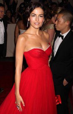 Red sweatheart dress AMAZE!